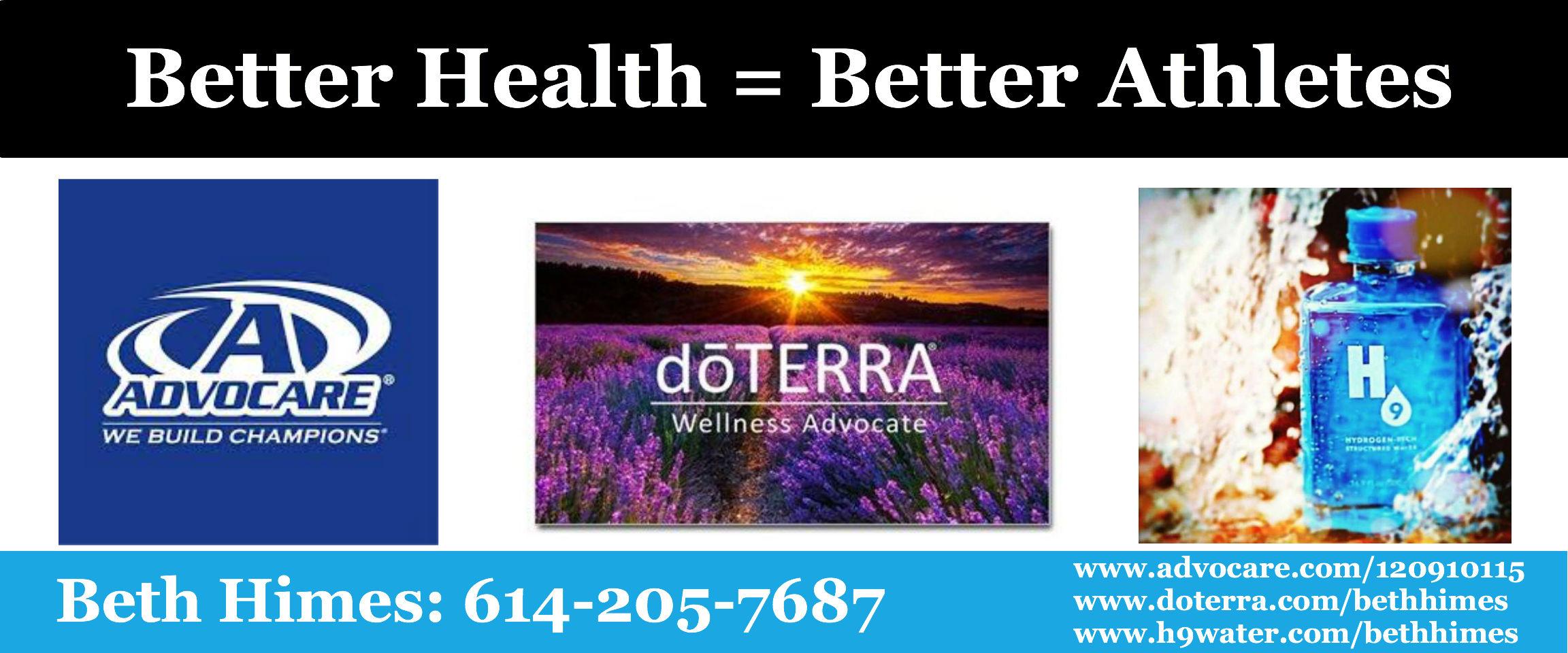 Better Health/Better Athletes