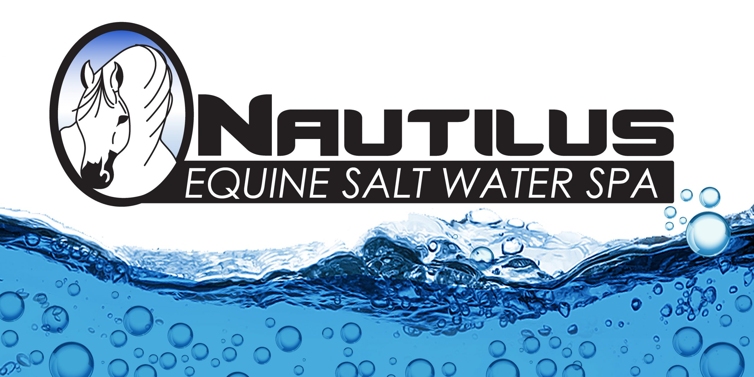 Nautilus logo and water