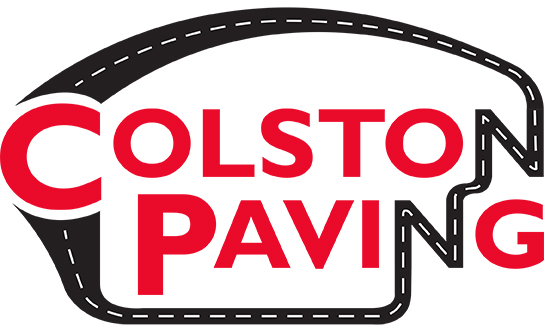 colston paving logo 2 color 185 red & K